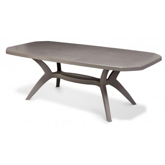 Tavoli da giardino ibiza 220 x 100 cm - Table plastique jardin ...