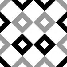 Piastrellina autoadesiva Square Damier