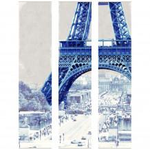 Quadro decorativo murale DECORAZIONE PARIGI LE TORRE EIFFEL