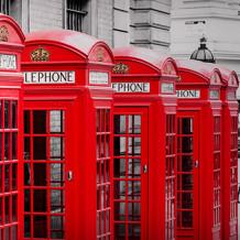 Parete decorativa Element 3D London phone