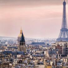 Parete decorativa Element 3D Torre Eiffel