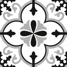 Piastrellina autoadesiva Square Flore