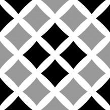 Piastrellina autoadesiva Square Cross