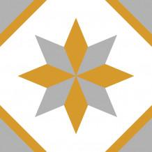 Piastrellina autoadesiva Square Rosone