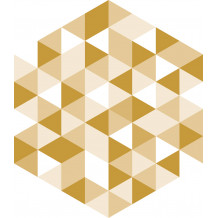 Piastrellina autoadesiva Diamond Facette