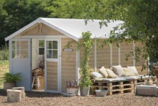 Perché scegliere un capanno da giardino PVC Grosf...